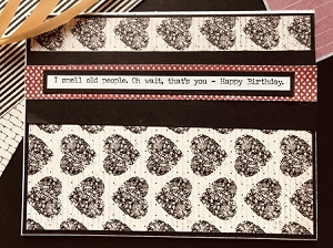 Getting Old - Funny Birthday Card